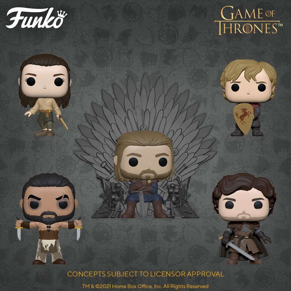 Games of Thrones Funko Iron Anniversary
